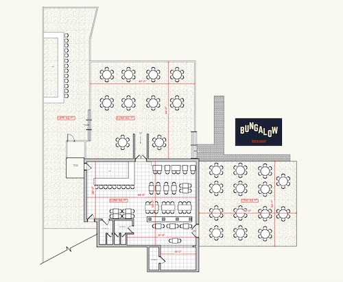 Bungalow Bars Floor Plan