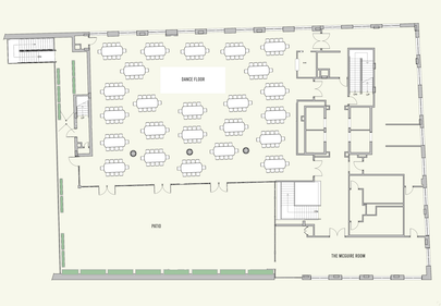 Rockaway Hotel Event Space Floor Plan