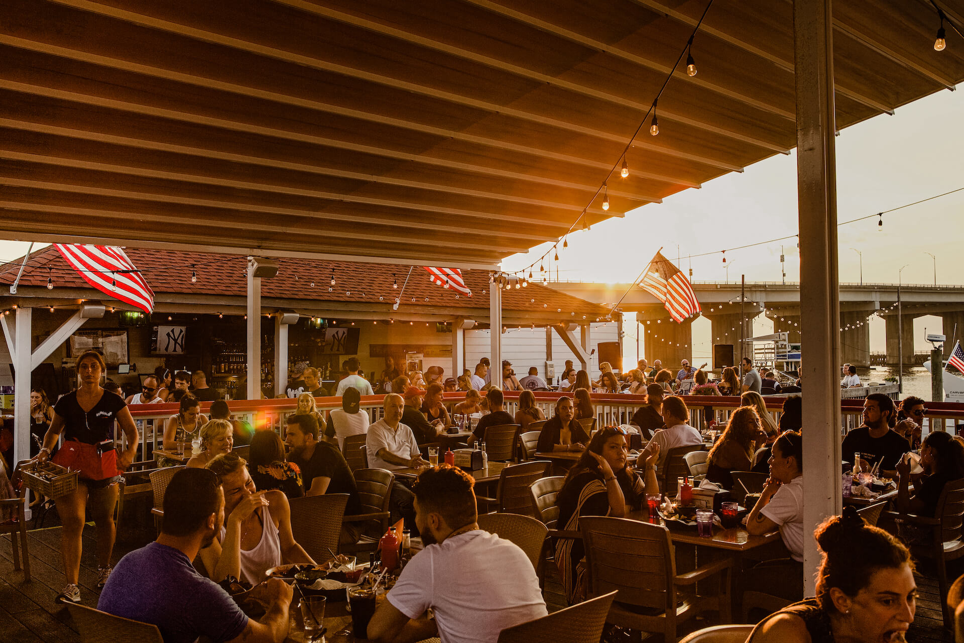 Bungalow Bar Deck View