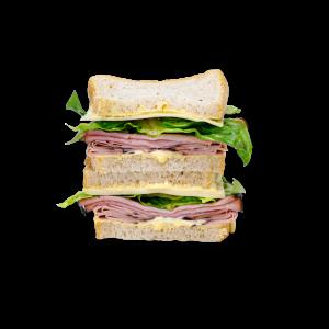 Black Forrest Ham Sandwich